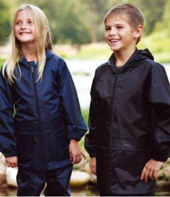 New Kids Boys Girls Regatta Stormbreak Waterproof Rain Jacket Coat | Taped Seams