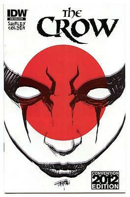 SDCC Comic Con 2012 Exclusive The Crow #1 Variant IDW