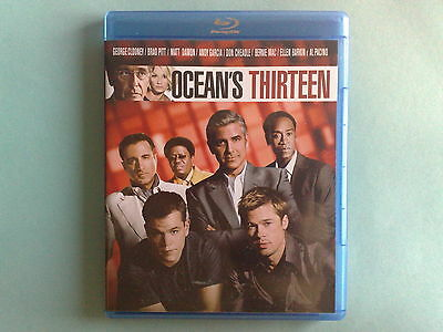 Ocean's Thirteen - Dvd Blu Ray Disc Come Nuovo (Mint)