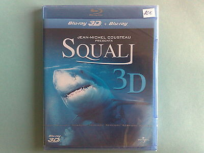 Squali (Sharks) 3D - Blu-Ray Disc Nuovo Sigillato (Sealed)