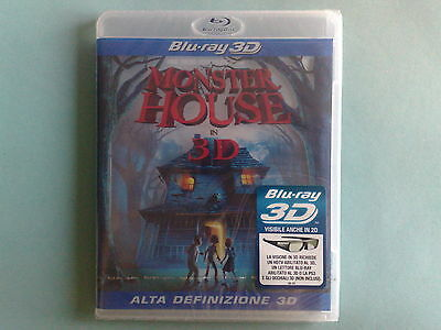 Monster House 3D - Blu-Ray Disc Nuovo Sigillato (Sealed)
