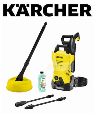 KARCHER K2.850 110 Bar 1400w Pressure Washer + T150 Patio Cleaner Brush Kit