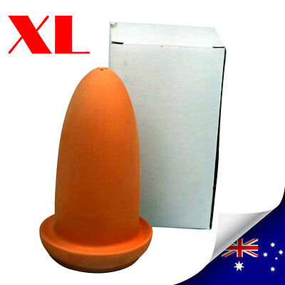 XL Teracotta Spawning Cones For Breeding Discus & Angel - NEW