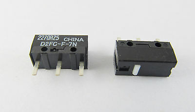 1pcs OMRON Micro Switch Microswitch for Mouse 0.74N D2FC-F-7N