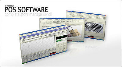 Retail Point of Sale System Software w/ Retail Management Support Included