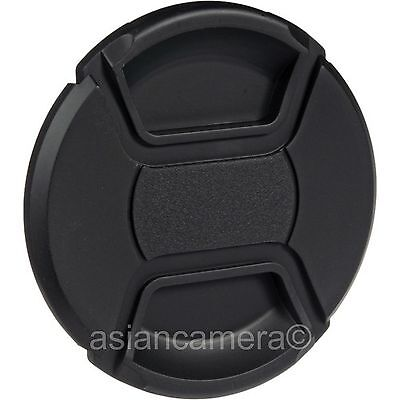 52mm Center Pinch Plastic Front Lens Cap Dust Cover 52 mm Snap-on U & S
