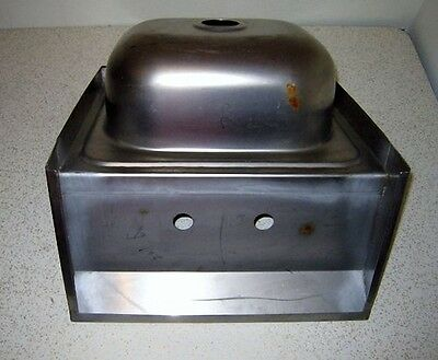 """ACE Refurbished Display 16"""" x 15"""" Stainless Steel Wall Mount Hand Sink HS-1615WG"""