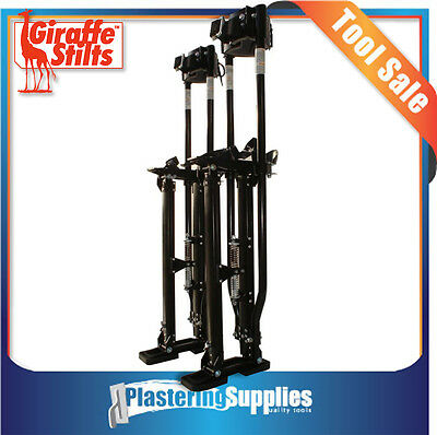 "Giraffe Plastering Stilts Double Pole Large Size 24"" to 40"" Magnesium"