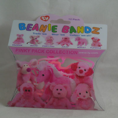 Ty Beanie Bandz: Pink Pack Collection  (12 Bandz) 00004
