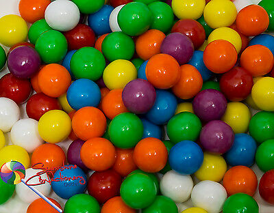 GUMBALL LOLLIES - 13MM - 1KG  -  Small Gumballs