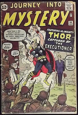Journey Into Mystery #84 Fr/gd 2Nd Thor