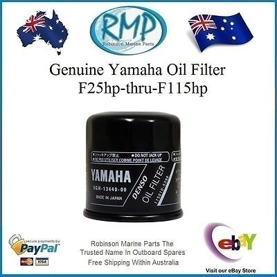 A Brand New Oil Filter Suits Yamaha Outboards F25hp-thru-F115hp # R 5GH-13440-00