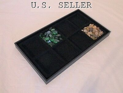 8 Compartment Multipurpose Jewelry Display Tray