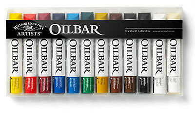 Winsor & Newton Oilbar - 12 x 50ml Colour Set