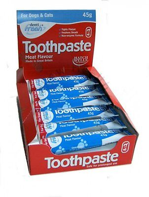 Hatchwells Toothpaste for Cats & Dogs 45g Tube Meat Flavour