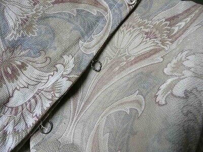 Antique French fabric 18th 19th faded