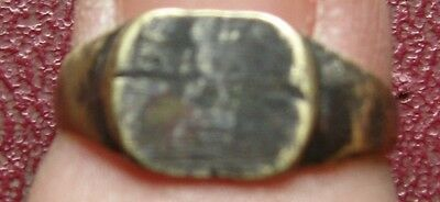 Ancient Artifact > Metal Detector Find > FINGER RING 3 3/4 US 14.75mm 9006DR