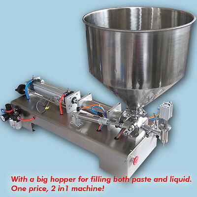automatic filling machine 5-300ml for cream shampoo,cosmetic,free shipping