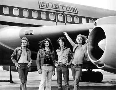 Led Zeppelin Rock Band 8X10 Glossy Music Photo Picture Airplane Rare!