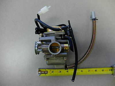 New - Carburetor Carb Fits Gy6 150Cc Electric Choke 4-Stroke Gas Scooter Moped