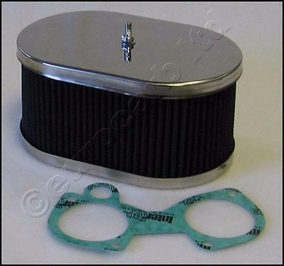 Dellorto DHLA Weber DCOE stainless air filter 83mm alternative to K&N AFDCOE83