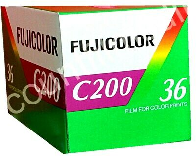 4 x FUJI FUJICOLOR C200 36 photos CHEAP COLOUR PRINT FILM by 1st CLASS POST