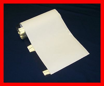 """10 YD 8"""" Brodart Just-a-Fold III Archival Book Jacket Covers - super clear mylar"""