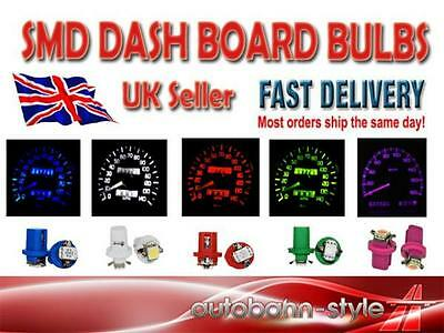 Smd / Led 509T Dash Instrument Panel Dashboard Speedo Bulbs Red White Blue Pink
