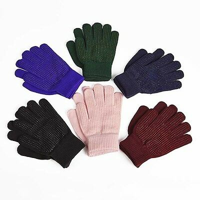 Magic horse riding gloves ( adults ladies burgundy pink pimple palm grip )
