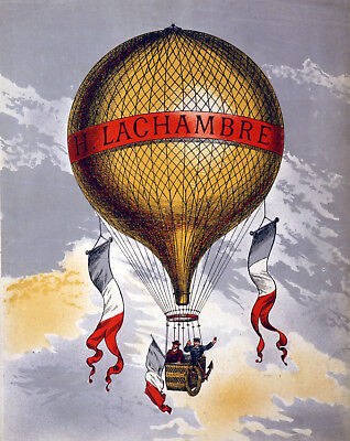 Vintage Circus POSTER.Hot Air Balloon.Wall Decor.House Home decoration. 1089