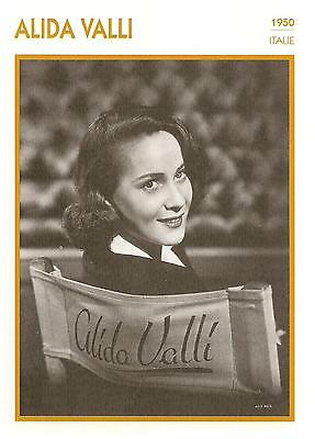 Fiche Cinema - Alida Valli