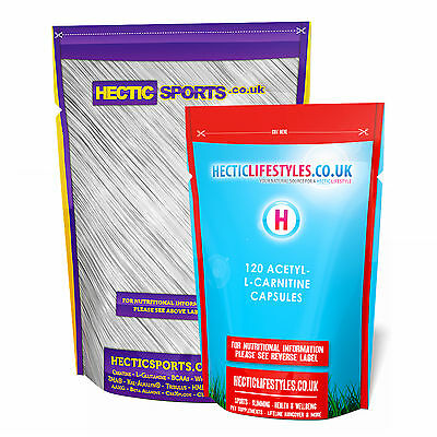 120 x Acetyl L-Carnitine capsules - High Strength