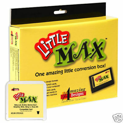 Amazing Designs Little MAX EMBROIDERY TRANSFER BOX AND MEMORY CARD