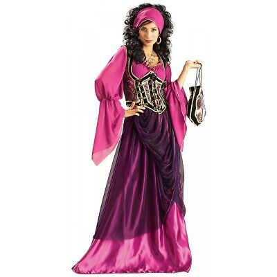 Dlx Wench Adult Grand Heritage Collection Medieval Gypsy Fortune Teller Costume