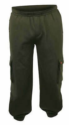 Fox NEW Chunk Joggers Superweight Fishing Jogging Bottoms Green *All Sizes*
