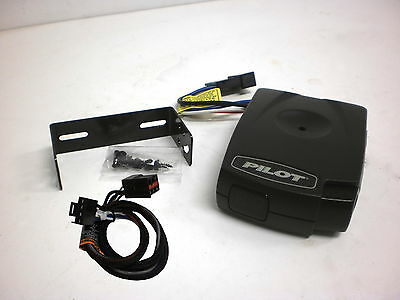 Pilot 80550 Electric Trailer Brake Control + Ford Wiring Harness 3035
