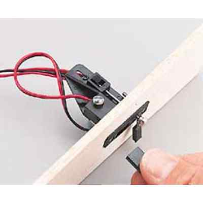 Great Planes Switch/Charge Jack Mounting Set GPMM1000