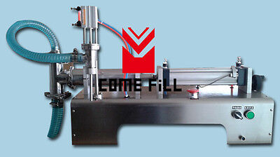 pneumatic one head liquid filling machine with one tube,1 foot pedal 90-1000ML