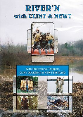 DVD, Locklear Sterling River'n, traps, trapping