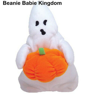 Ty Beanie Babie * Ghoul * The Halloween Ghost - Rare