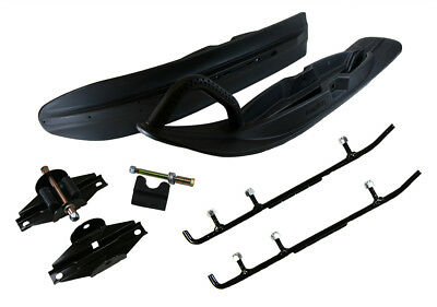Camoplast All-Terrain Skis Mount Kit & 4 Inch Carbides Arctic Cat Bearcat Jag