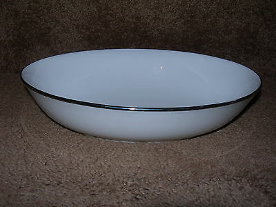 Franciscan Cosmopolitan Cortina Footed Oval Vegetable Serving Bowl/s Japan