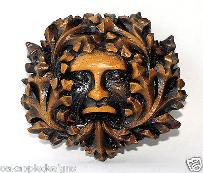 Green Man Reproduction Medieval Cathedral Carving Pagan New Greenman Gothic Gift