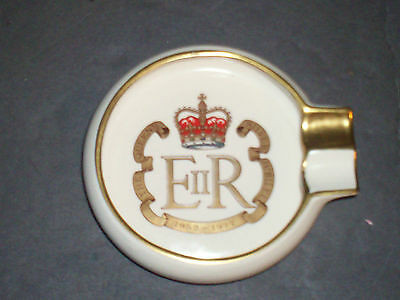 Carlton Ware Queen's Silver Jubilee 1952-1977 Collectible Tray