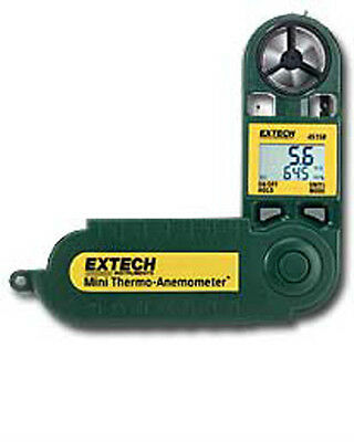 EXTECH 45158 Mini Thermo-Anemometer with Humidity, Temp, RH, DP and Windchill