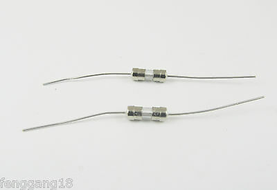 100mA 0.1 Amp AXIAL LEAD SLOW BLOW Time-Delay GLASS FUSE 3.6mm x 10mm T100mA250V