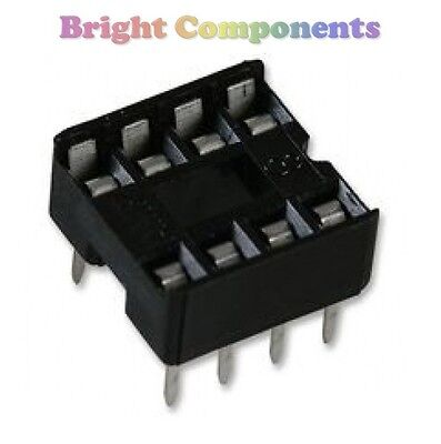 DIL / DIP IC Socket (6, 8, 14, 16, 18, 20 Pin Sockets) - 1st CLASS POST