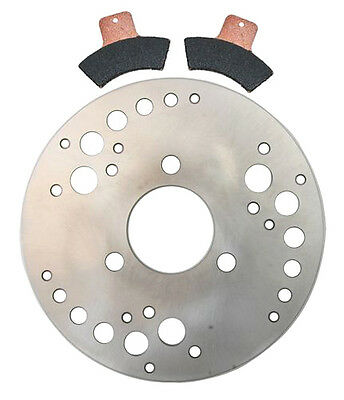 00 REAR Brake Rotor and Pads - Polaris Scrambler 400 2x4 - 2000