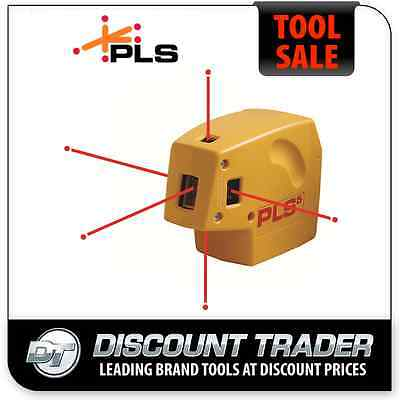 PLS Self Levelling Plumb, Level and Square Point-To-Point Laser - PLS5