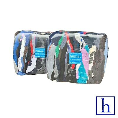 20KG Sweatshirt Mechanic Mix Cleaning Cloth Rags Garage Workshop Wipes - HUMAC
